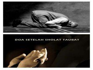bacaan doa shalat taubat